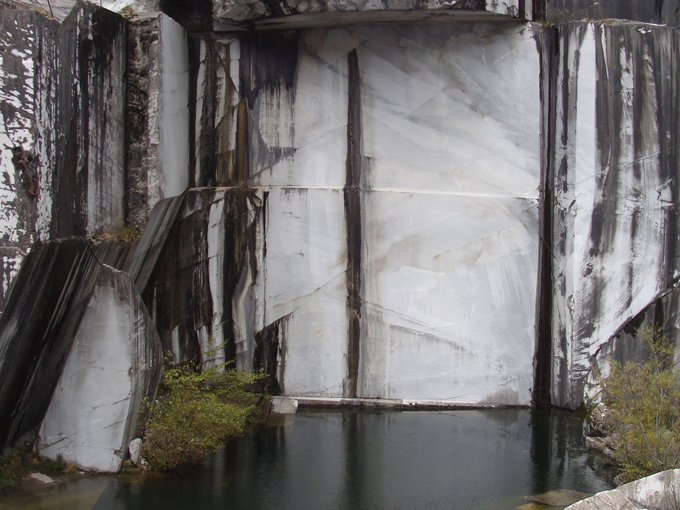Brian Mercer Residency, Pietrasanta - Disused marble quarry