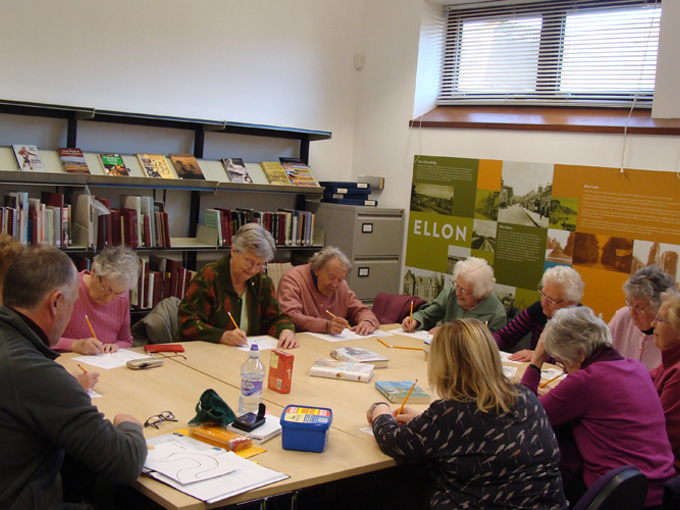 Ellon Academy: River of Words - Bernard Briggs working with Ellon Reminiscence Group