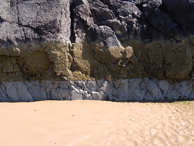 Planning Aid Scotland: Nature - Sand erosion on St. Cyrus beach