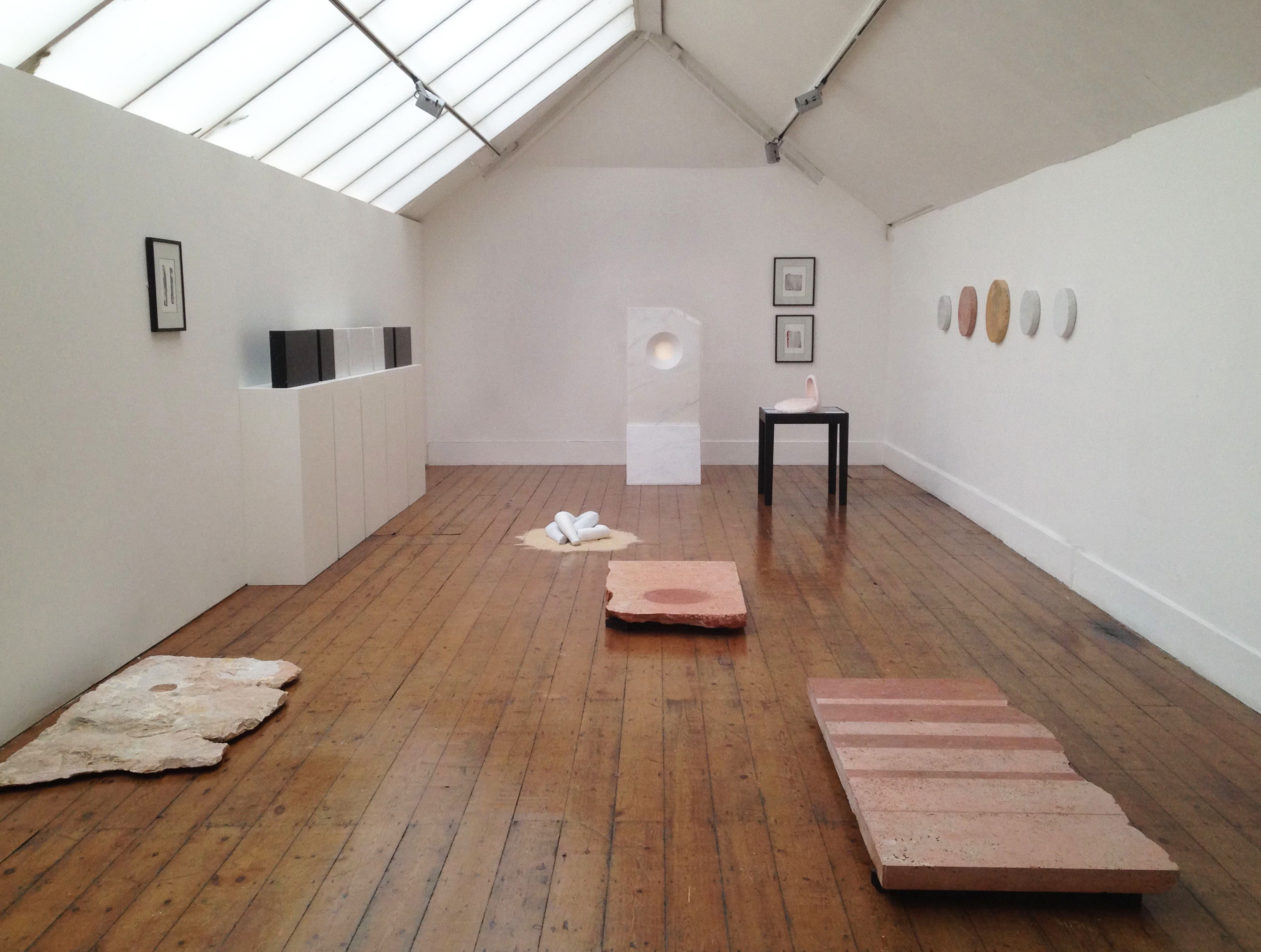Brian Mercer Residency 2015 Award Winners Exhibition, Royal British Sculptors 2016 - Mary Bourne