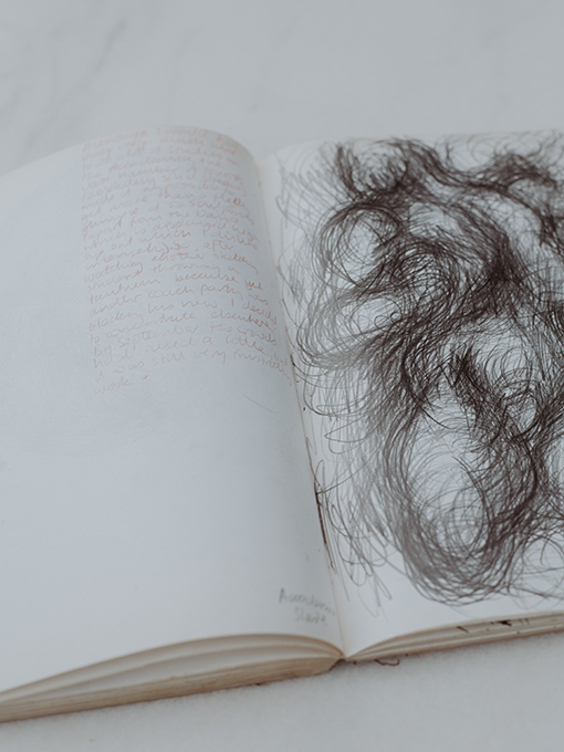 John Kinross Sketchbook. Photo: Abby Quick